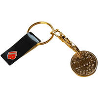 View Item Bank Of Dallas Shopping Trolley Token/Coin Keyring